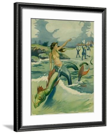 The Close Of The Season--Framed Art Print