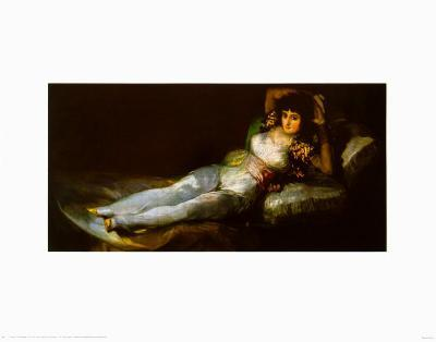 The Clothed Maja-Francisco de Goya-Art Print