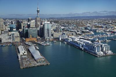 The Cloud Events Venue, Queen's Wharf, Auckland Waterfront, North Island, New Zealand-David Wall-Photographic Print