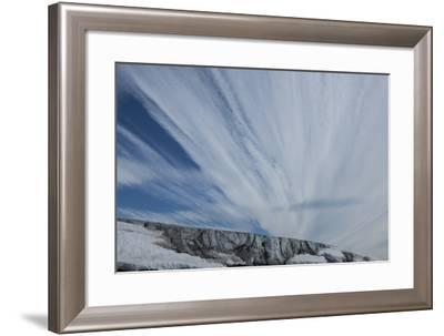 The Cloud Filled Sky Above Franz Josef Land-Cristina Mittermeier-Framed Photographic Print