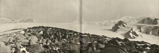 'The Cloudmaker - The View from the Summit of Mount Hope', c1908, (1909)-Unknown-Photographic Print