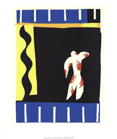 The Clown-Henri Matisse-Art Print