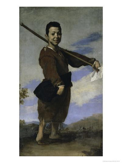 The Club Footed Boy, 17th century-Jusepe de Ribera-Giclee Print