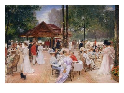The Club of the Ile de Puteaux, 1907-Henri Gervex-Giclee Print