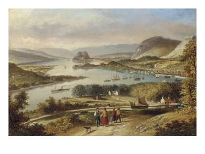 The Clyde from Dalnotter Hill, 1857-Thomas Dudgeon-Giclee Print