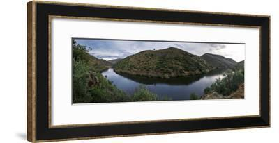 The Coa River and its Halted Dam in Northern Portugal-Babak Tafreshi-Framed Photographic Print