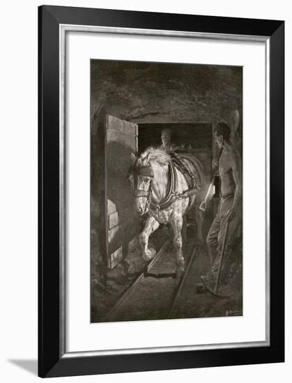 The Coal Strike, from 'The Year 1912', Published London, 1913--Framed Giclee Print