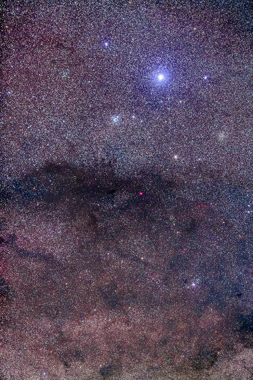 The Coalsack and Jewel Box Cluster in the Southern Cross-Stocktrek Images-Photographic Print