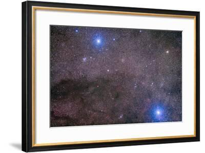 The Coalsack and Jewel Box Cluster in the Southern Cross-Stocktrek Images-Framed Photographic Print