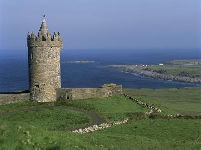 The Coast at Doolin, County Clare, Munster, Eire (Republic of Ireland)-G Richardson-Photographic Print