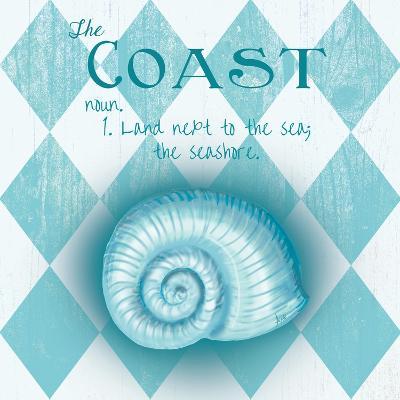 The Coast Border-Andi Metz-Art Print