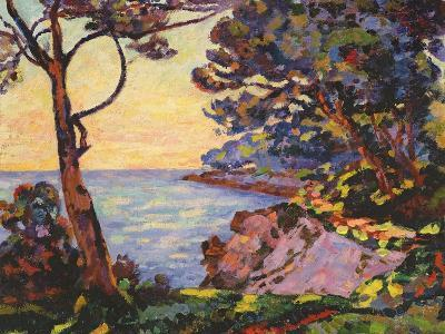 The Coast from L'Esterel, C.1902-Jean Baptiste Armand Guillaumin-Giclee Print