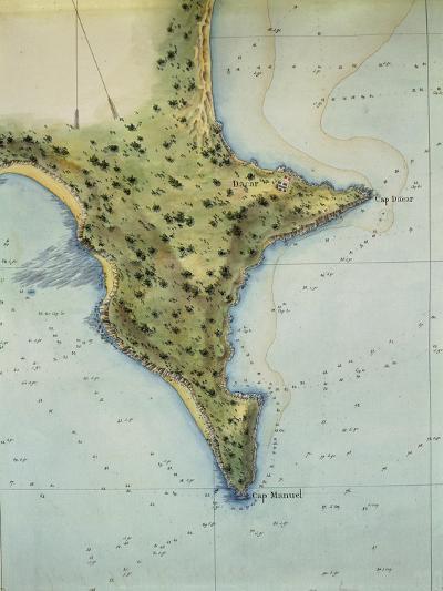 The Coast of Dakar, Senegal, from the Senegal Atlas, 1817--Giclee Print