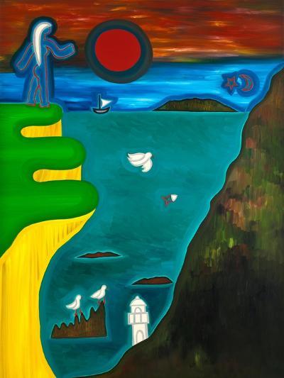 The Coast of England, 2010-Cristina Rodriguez-Giclee Print