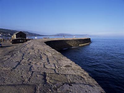 The Cobb, Lyme Regis, Dorset, England, United Kingdom-John Miller-Photographic Print