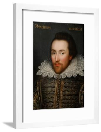 The Cobbe Portrait of William Shakespeare, C1610--Framed Giclee Print