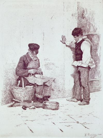 The Cobbler, 1908-Antonio Pirandello-Giclee Print