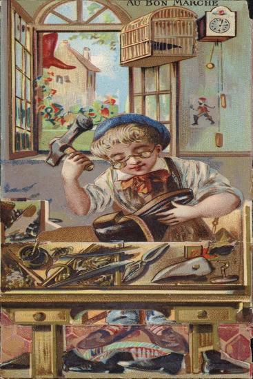 The Cobbler--Giclee Print