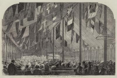 The Cobden Banquet at Rochdale--Giclee Print