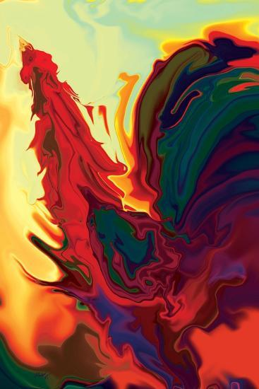 The Cock 2-Rabi Khan-Art Print