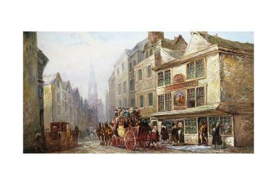 The Cock and Magpie, Drury Lane, London-John Charles Maggs-Giclee Print
