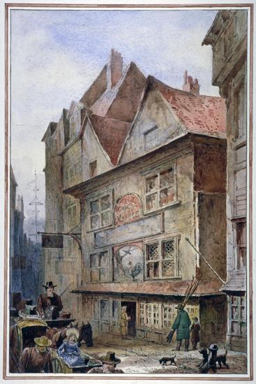 The Cock and Magpie Tavern, Drury Lane, Westminster, London, 1862-Waldo Sargeant-Giclee Print