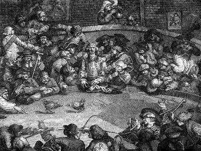 The Cock-Pit, 1759-William Hogarth-Giclee Print