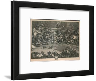 'The Cock-pit', 1759-William Hogarth-Framed Giclee Print