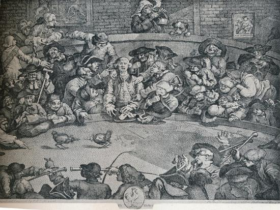 The Cock Pit, c1840, (1917)-George Presbury-Giclee Print