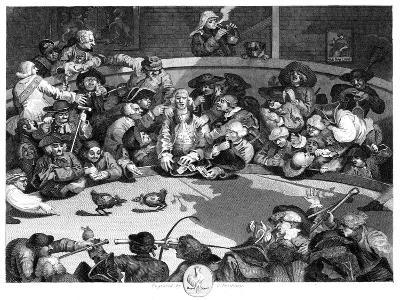The Cock Pit, C1840-George Presbury-Giclee Print