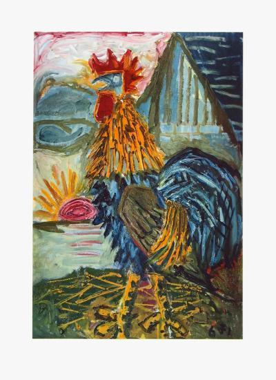 The Cock-Otto Dix-Collectable Print