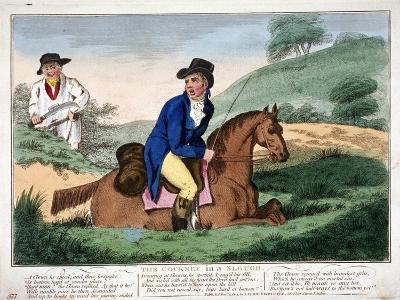 The Cockney in a Slough, 1804--Giclee Print