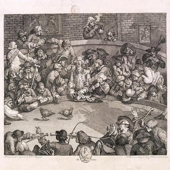 The Cockpit, London, 1759-William Hogarth-Giclee Print