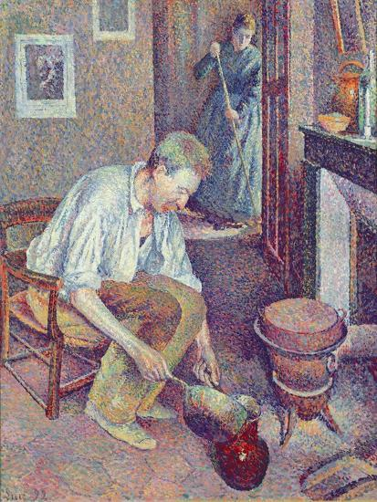 The Coffee, 1892-Maximilien Luce-Giclee Print