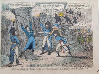 The Cold-Blooded Murderer or the Assassination of the Duke D'Enghein, 1804-Charles Williams-Giclee Print