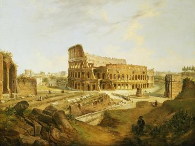 The Colisseum, Rome-Jean Victor Louis Faure-Giclee Print