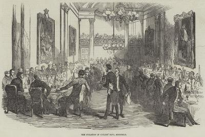 The Collation in Cutlers' Hall, Sheffield--Giclee Print