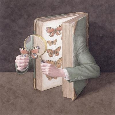 The Collector, 2005-Jonathan Wolstenholme-Giclee Print