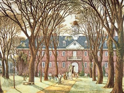 The College of William and Mary--Giclee Print