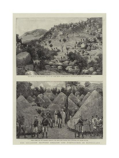 The Collision Between English and Portuguese in Manicaland--Giclee Print