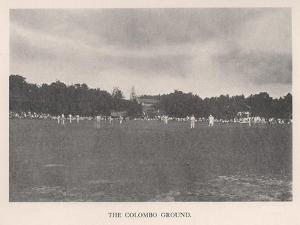 The Colombo Cricket Ground, Ceylon, 1912