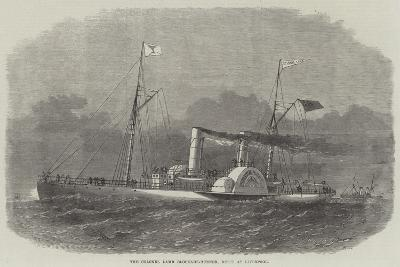 The Colonel Lamb Blockade-Runner, Built at Liverpool-Edwin Weedon-Giclee Print