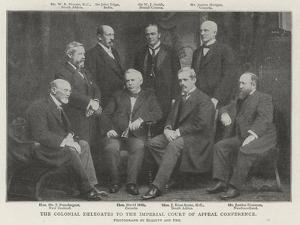 The Colonial Delegates to the Imperial Court of Appeal Conference