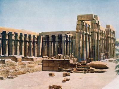 The Colonnade of Amenhotep III, Temple of Luxor, Egypt, 20th Century--Giclee Print