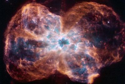 The Colorful Demise of a Sun-like Star Space Photo--Poster