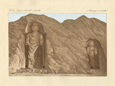 The Colossal Graven Images and the Cave-City Bameean in Cabool--Giclee Print