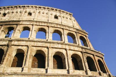 The Colosseum and Blue Sky, Close Up-Design Pics Inc-Photographic Print