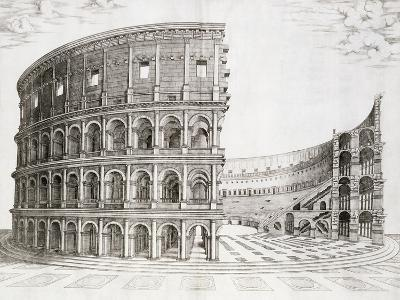The Colosseum, Built in AD 80--Giclee Print