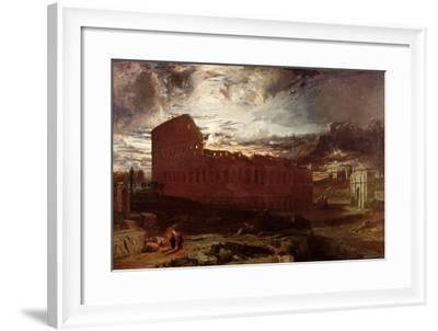 The Colosseum, Rome, 1860-Frederick Lee Bridell-Framed Giclee Print