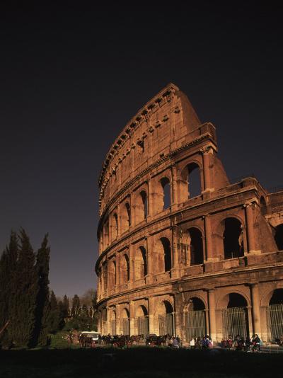 The Colosseum, Rome, Italy-Angelo Cavalli-Photographic Print
